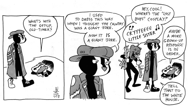 A Throwback Thursday Comic